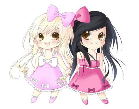 pin  cris miao  anime chibi friend pictures