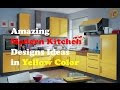 pictures yellow kitchens