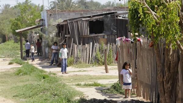 Desnutrición. Una de las dimensiones que tomó UNICEF para elaborar un nuevo índice de pobreza infantil. La foto es de Salta, donde los más chicos sufren déficit alimentario. FOTO: Archivo Clarín.
