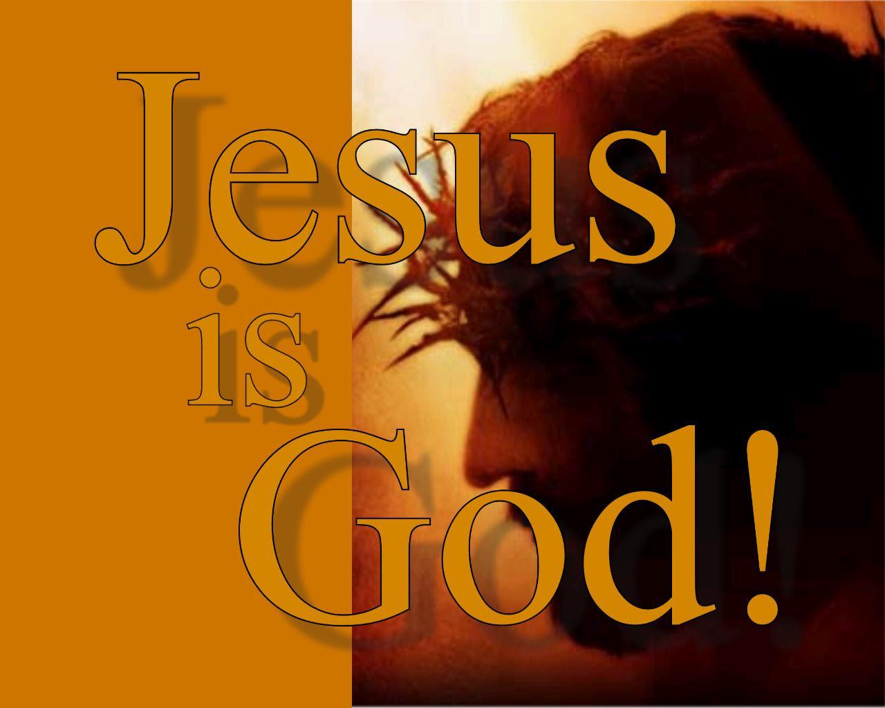 Image result for Jesus is god
