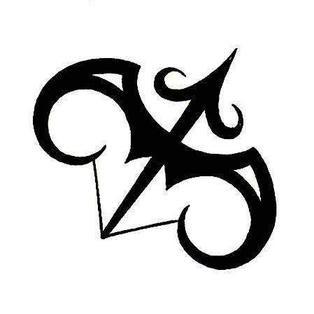 sagittarius  aries combination tattoo sagittarius