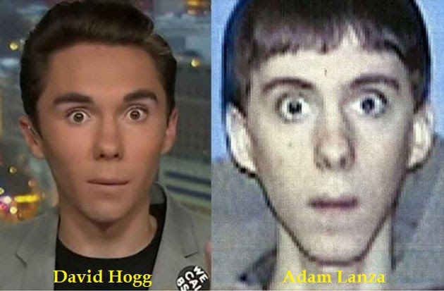 Image result for adam lanza   david hogg