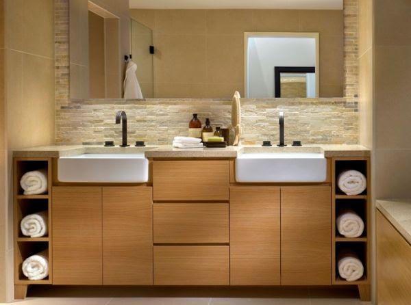 ιδέες για να οργανώσετε και να εκθέσετε τις πετσέτες στο μπάνιο σας4