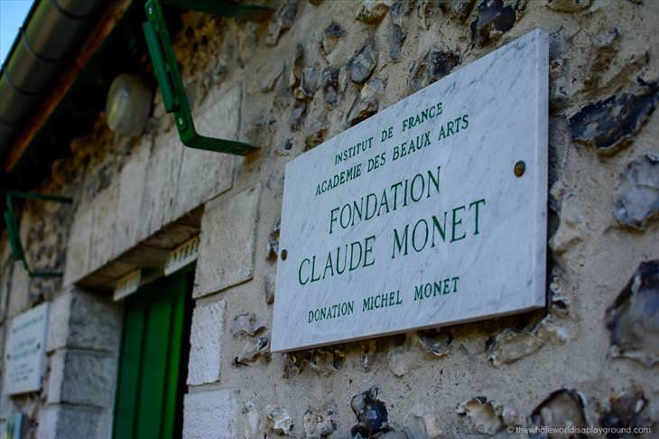 A bela casa de Claude Monet