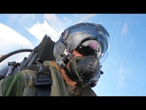 Flying Through the Clouds - Rafale French Pilot
