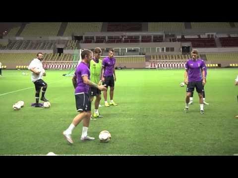 VIDEO: Training, Njie and Pochettino