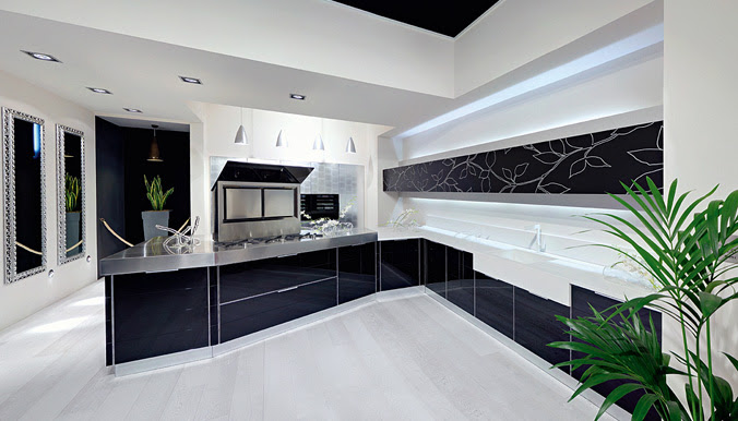 Ultra Glossy and Sleek Kitchen Design – Crystallo from Arrex ...