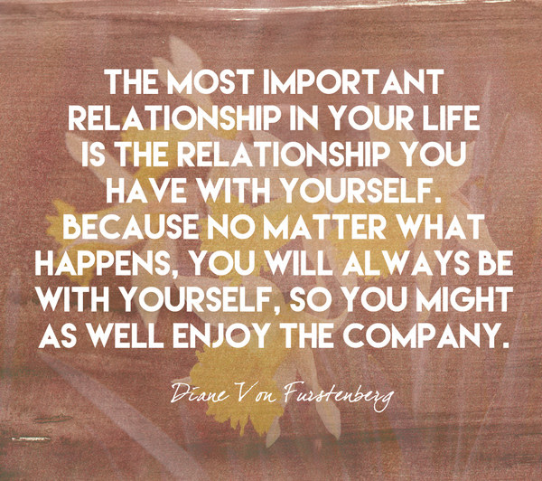 Enjoy The Company Quotes To Celebrate Self Love Livingly