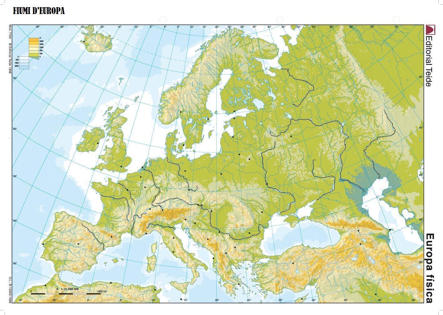 Cartina Geografica Europa Politica Muta.Cartina Europa Muta Da Stampare Stampae Colorare