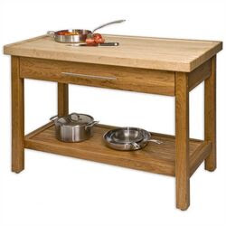 Stainless Steel Kitchen Islands & Serving Carts | Wayfair