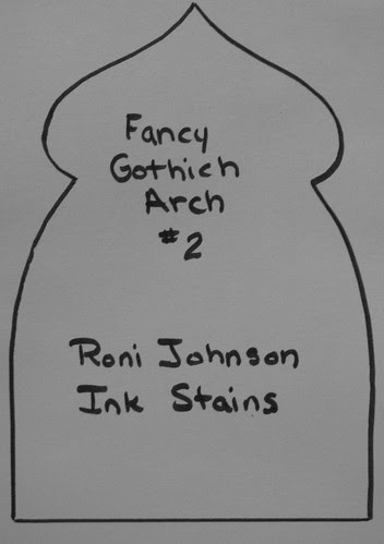 Gothic Arch Templates 002
