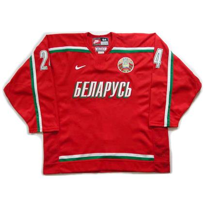 Belarus 2004  jersey