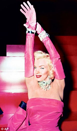 Screen icon: The appeal of the star, pictured in 1953 in the film Gentlemen Prefer Blondes, has only got stronger with time