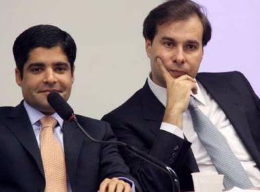 Com direito a palpites, ACM Neto ensaiou discurso de convenção do DEM na casa de Maia