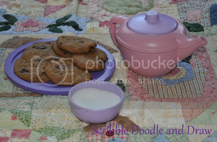 Learn through play while having a tea party with your kids