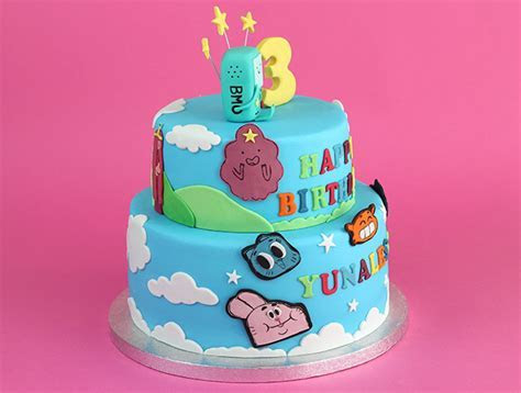Adventure Time   Amazing World of Gumball Cake   Cakey