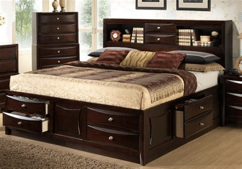 electra king storage bedroom set lexington overstock