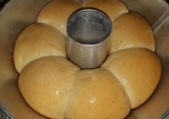 Resep Membuat Roti sobek oven tangkring Bikin Nagih