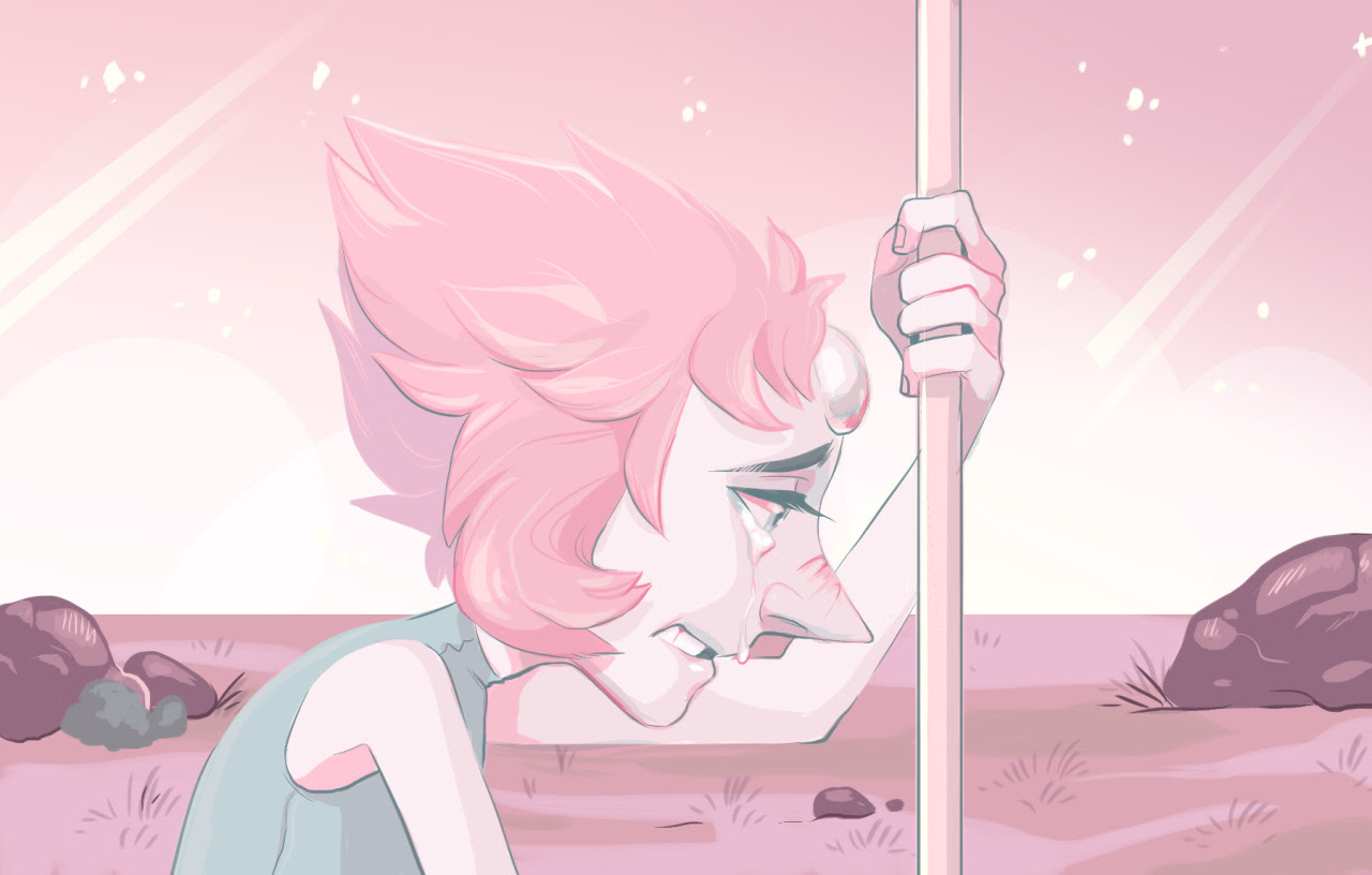 Pearl redraw for some color practice…I love drawing her, she looks so fragile…my bird wife