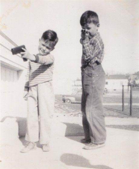1950's toy guns