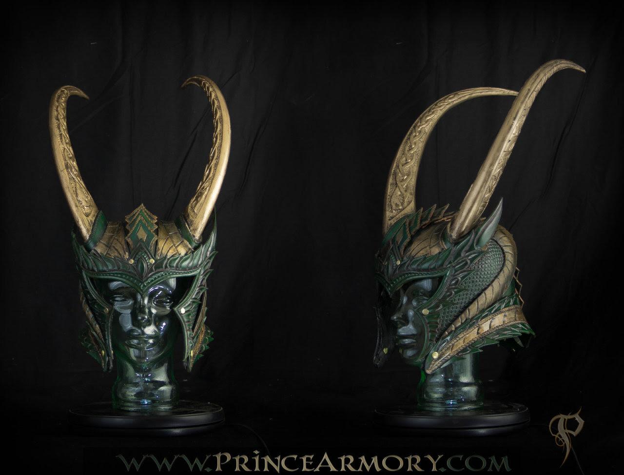 Medieval Loki Helmet by Azmal