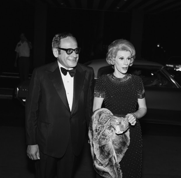 10th Anniversary Party of The Tonight Show Joan Rivers with her husband producer Edgar Rosenberg  September 30, 1972