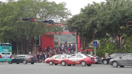 蓮花山公園 南側の入口