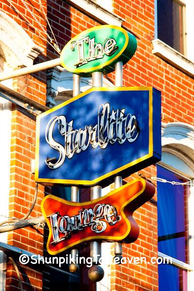 Neon Sign for The Starlite Lounge, La Crosse, Wisconsin