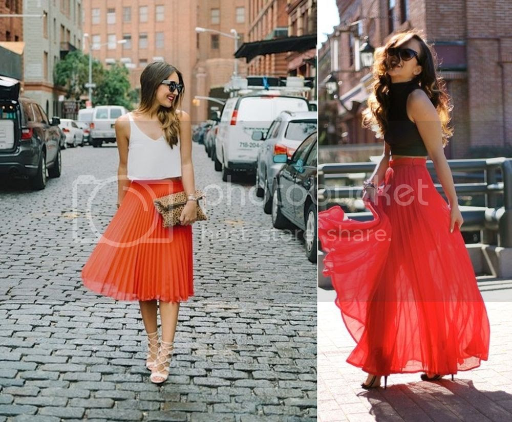 Top 3 reasons for red skirts - red Midi Skirts Picture  posted by Annie K, Fashion and Lifestyle Blogger, Founder, CEO and writer of ANNIES BEAUTY HOUSE - a german fashion and beauty blog