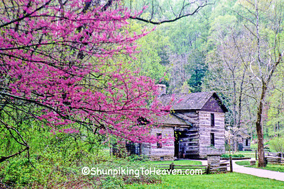 Sheeks House at Spring Mill State Park, Lawrence County, Indiana