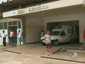 Hospital Clériston Andrade (Foto: Reprodução/TV Bahia)