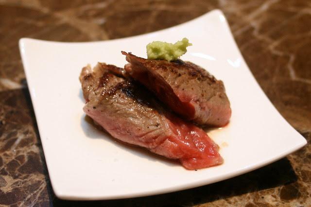 Tetsuya's seared wagyu beef