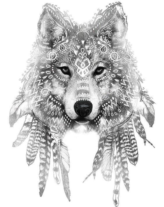 Guia Tatuagem Tatuagem De Lobo Significados E Inspirações