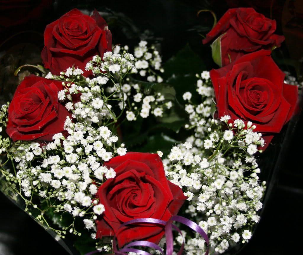 Nydelige roser fra kjæresten min.. :)