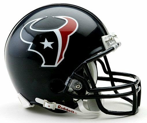 Houston Texans NFL Football Team Logo Riddell Mini Helmet  eBay