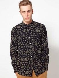 Ymc Shirt With Paisley Pattern