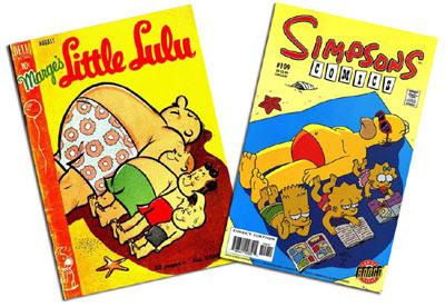 Little Lulu #26 and Simpsons #109