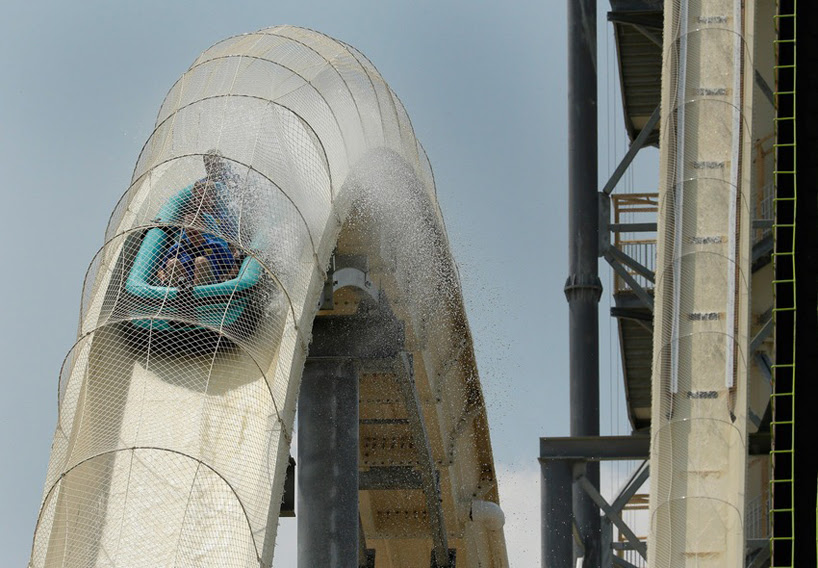 verruckt, the world's tallest waterslide opens to the public