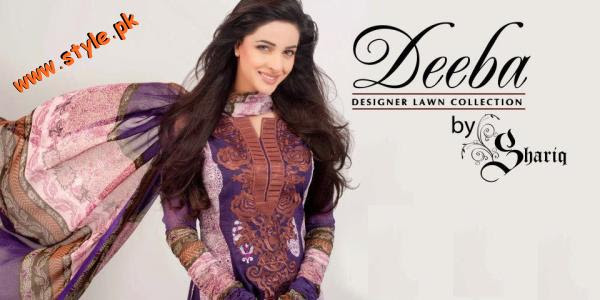 Latest Shariq Textiles Summer Dresses 2012 007