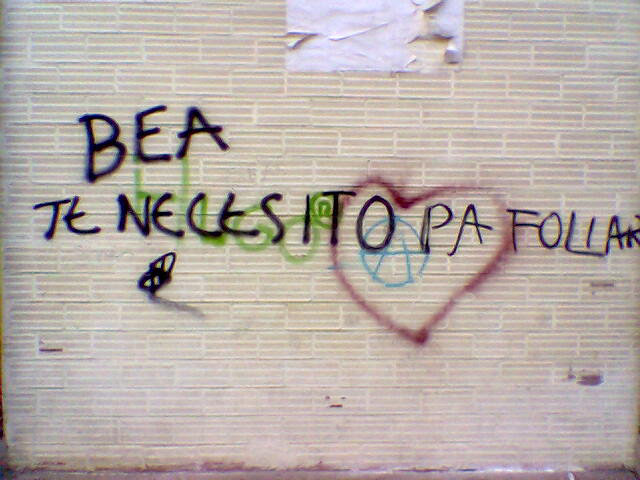 Una pared, mil pasiones