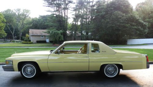 Buy used 1977 CADILLAC COUPE DEVILLE 14,000 ORIGINAL MILES ...