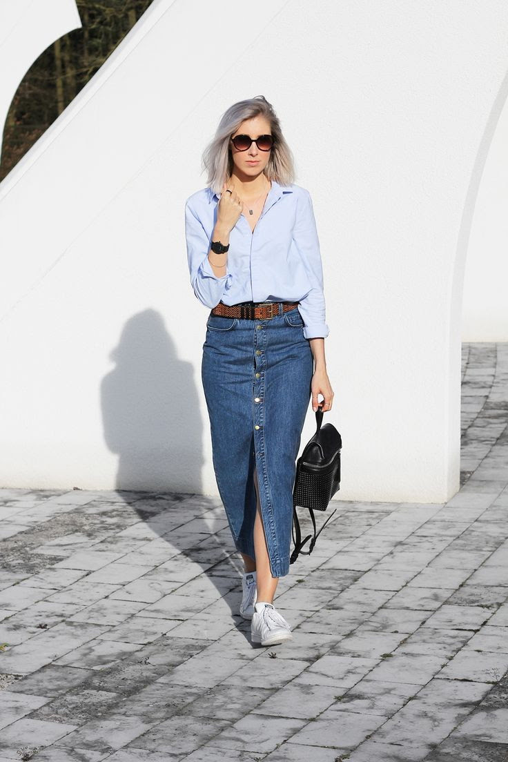 long and maxi skirts outfit ideas 2020  fashiontasty