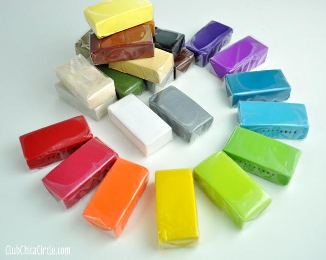 PREMO Clay rainbow colors