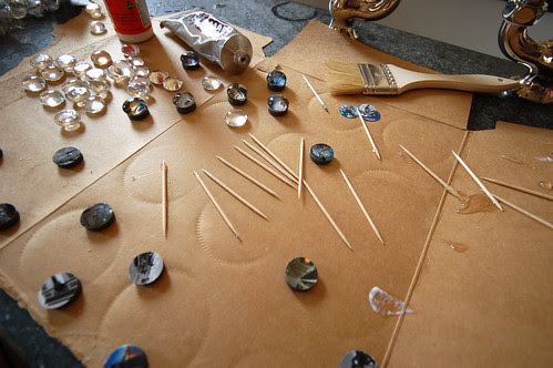 Marble Magnets In Progress