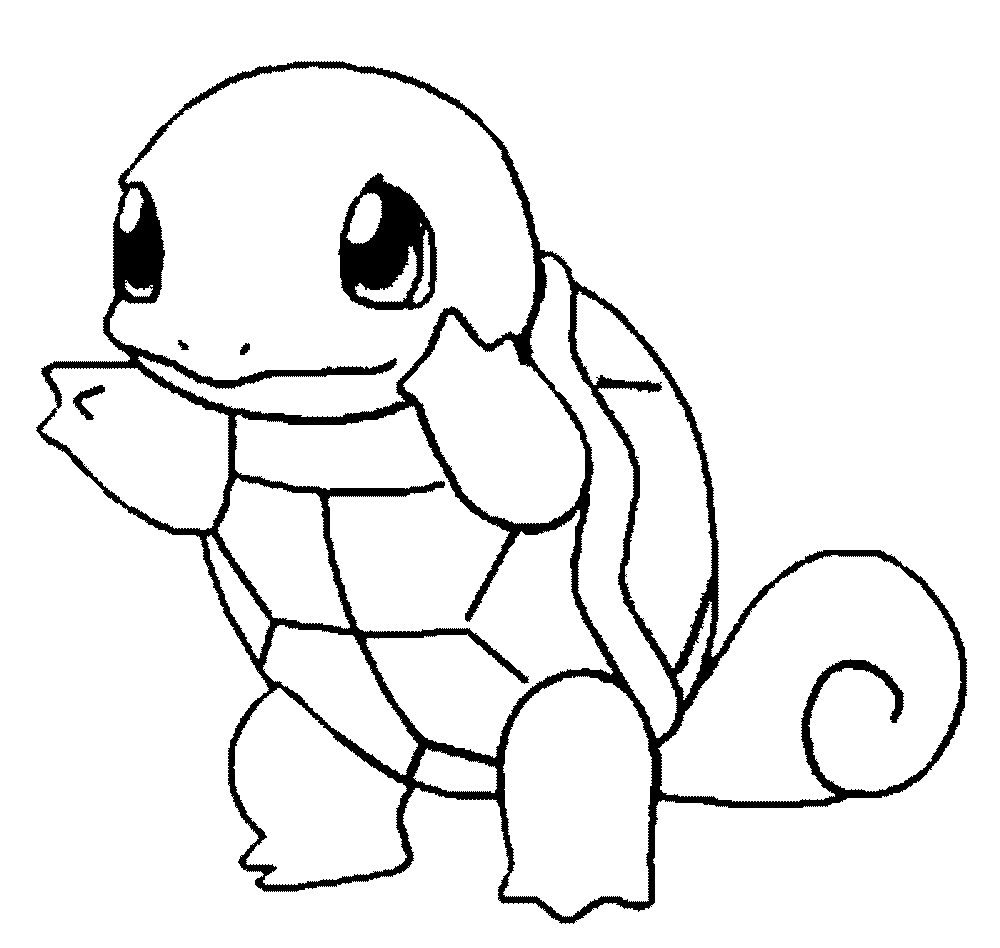 Printable Pokemon Coloring Sheets For Kids Drawing With Crayons