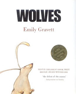 WOLVES by Emily Gravett.