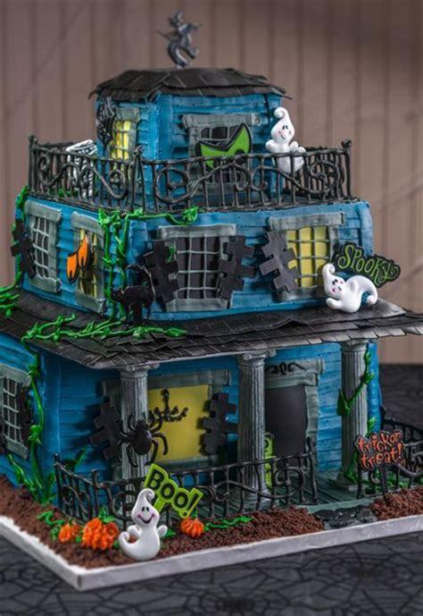 How To Make a Halloween Haunted House Cake   Creative