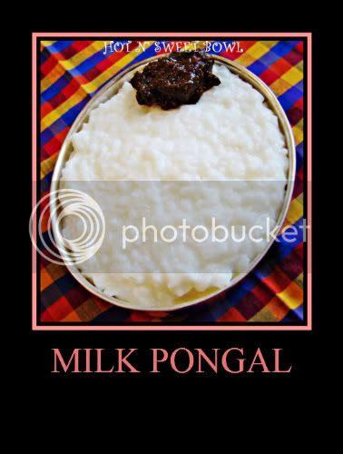 Pal Pongal/Milk Pongal