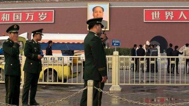 AP tiananmen square jtm 131029 16x9 608 Tiananmen Square Crash Poses Questions for Officials