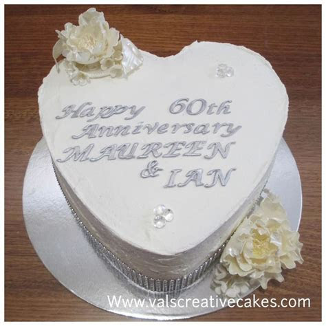 1000  ideas about 60th Anniversary Cakes on Pinterest   60